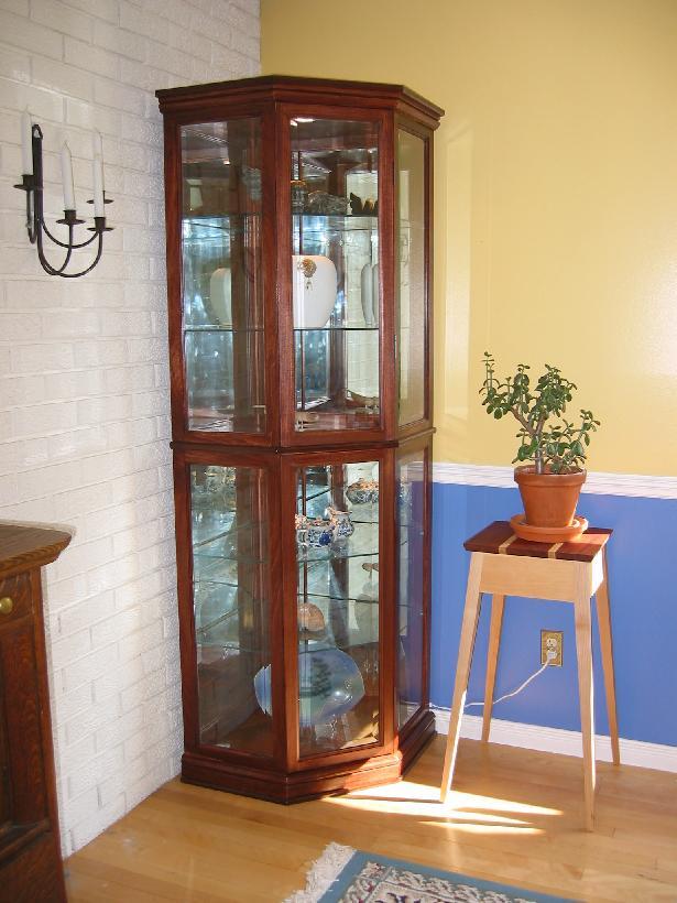 brass glass curio cabinet | Most Popular on PopWatchers