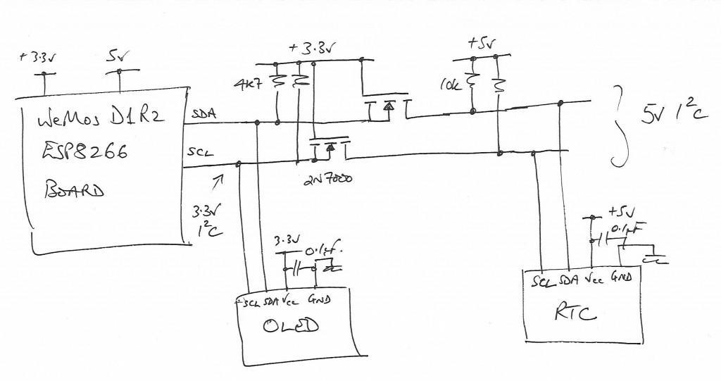WeMos LevelShifters 1024x541 netclock ntp synchronized oled clock update wooduino ca  at bayanpartner.co